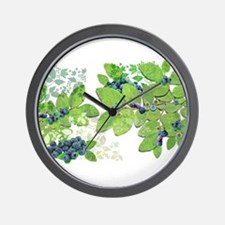Blueberries from Nova Scotia Wall Clock