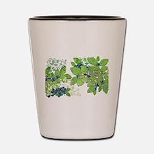Blueberries from Nova Scotia Shot Glass