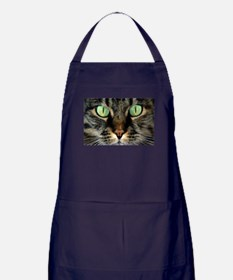 Cat Face Apron (dark)