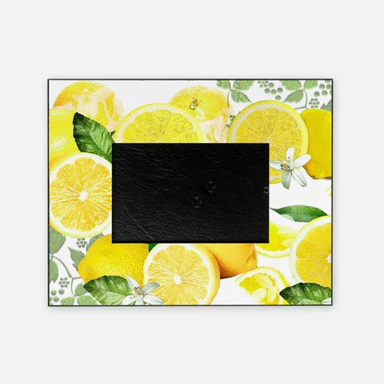Acid Lemon from Calabria Picture Frame