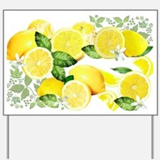 Acid Lemon from Calabria Yard Sign
