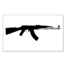 AK-47 Rectangle Decal