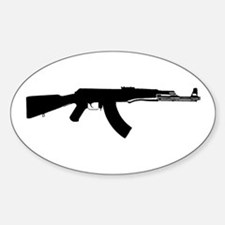 AK-47 Oval Decal