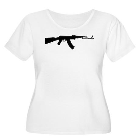 AK-47 Women's Plus Size Scoop Neck T-Shirt