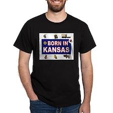 KANSAS BORN T-Shirt