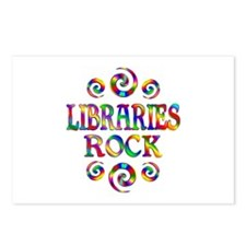 Libraries Rock Postcards (Package of 8)