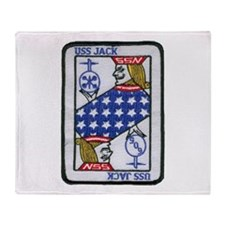 USS JACK Throw Blanket