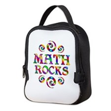 Math Rocks Neoprene Lunch Bag