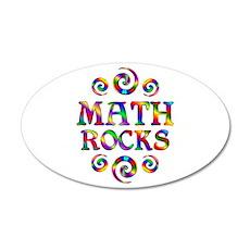 Math Rocks Wall Decal