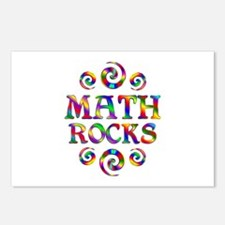Math Rocks Postcards (Package of 8)