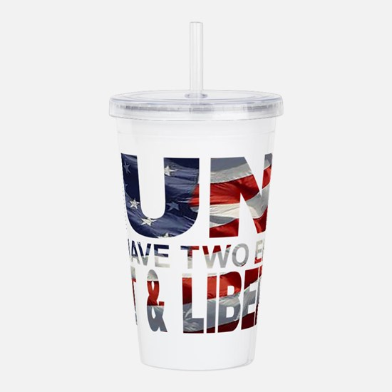 GUNS Acrylic Double-wall Tumbler