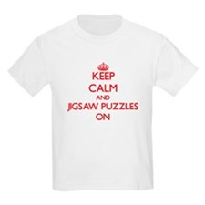 Keep Calm and Jigsaw Puzzles ON T-Shirt