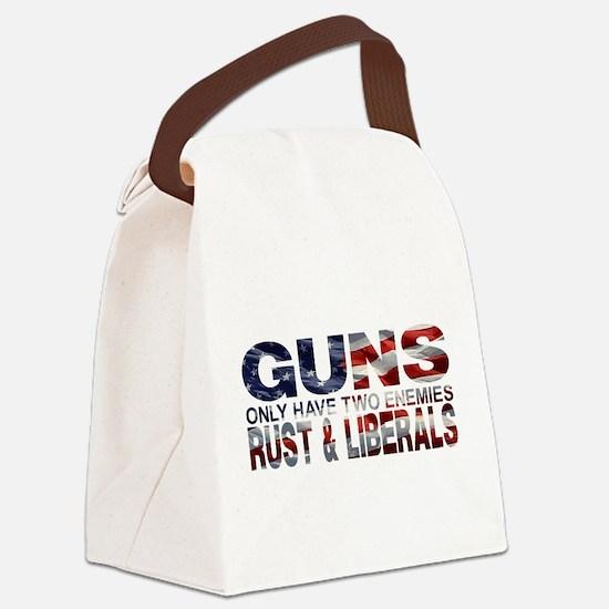 GUNS Canvas Lunch Bag