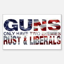 GUNS Decal