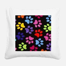 Cute Dog Square Canvas Pillow