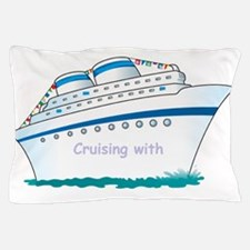Cute Family cruise Pillow Case