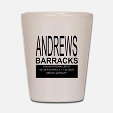 Andrews Barracks Shot Glass