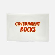 Government~Rocks Rectangle Magnet
