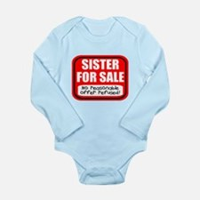 Sister Brother For Sal Long Sleeve Infant Bodysuit
