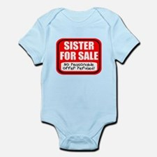 Sister Brother For Sale Infant Bodysuit