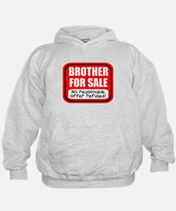 Sister Brother For Sale Hoodie