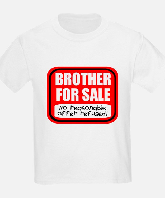 Sister Brother For Sale T-Shirt