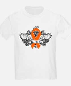 Multiple Sclerosis Fighter Wings T-Shirt