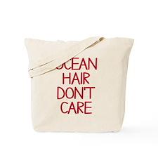 Ocean Lake Coast Boat Hair Don't Care Tote Bag