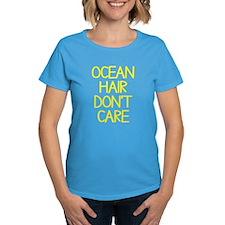 Ocean Lake Coast Boat Hair Do Tee
