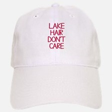 Ocean Lake Coast Boat Hair Don't Care Baseball Baseball Cap