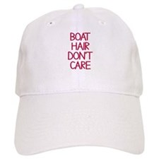 Ocean Lake Coast Boat Hair Don't Care Baseball Cap