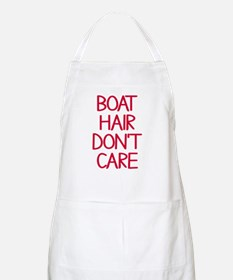 Ocean Lake Coast Boat Hair Don't Care Apron