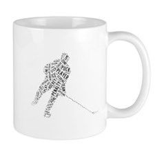 Hockey Player Words Mug