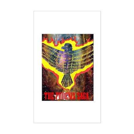 The Phoenix Saga Rectangle Sticker