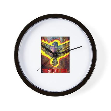 The Phoenix Saga Wall Clock