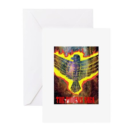 The Phoenix Saga Greeting Cards (Pk of 10)