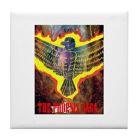 The Phoenix Saga Tile Coaster