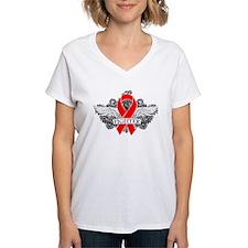 Heart Disease Fighter Wings T-Shirt