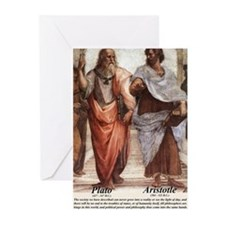 Funny Aristotle Greeting Cards (Pk of 20)