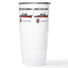 Unique Uss ticonderoga Travel Mug