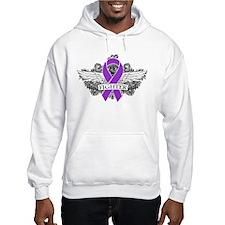Cystic Fibrosis Fighter Wings Hoodie