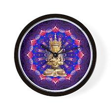 Vajrahdara Daily Focus Mandala 2.8.15 Wall Clock