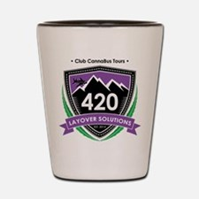 420 Layover Solutions Shot Glass