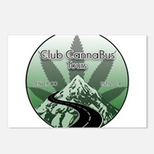 Club CannaBus Tours Logo Postcards (Package of 8)