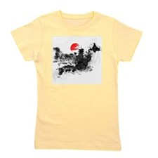 Abstract Kyoto Girl's Tee