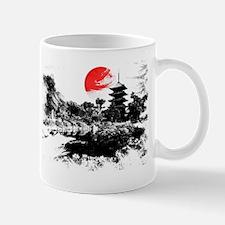 Abstract Kyoto Mug
