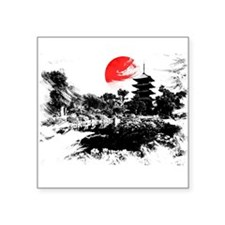 Abstract Kyoto Sticker