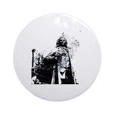 Bach Round Ornament
