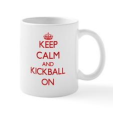 Keep Calm and Kickball ON Mugs