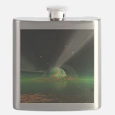 Moon View on Planet Newerades Flask